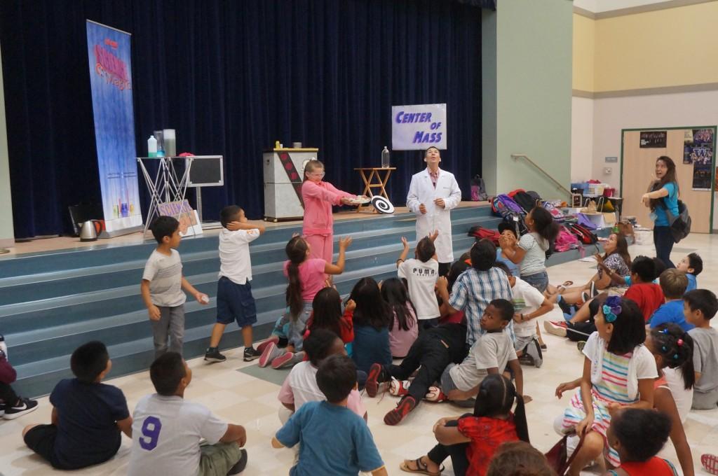 School visit to Highlands Elementary in Renton, WA